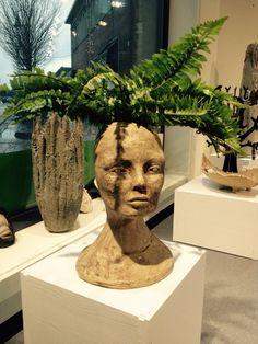 Potteskjuler i keramikk Buddha, Sculpture, Statue, Art, Craft Art, Sculpting, Kunst, Art Journaling, Sculptures
