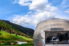 Chugging across the valleys and over the mountains. Missouri River, Airstream Trailers, Caravan, Bliss, To Go, Backyard, Mountains, Fun, Inspiration