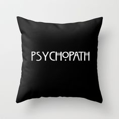 Tate Langdon Psychopath American Horror Story Throw Pillow by Zharaoh  - $20.00
