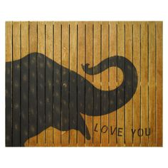 Sugarboo Designs Elephant Wall Art