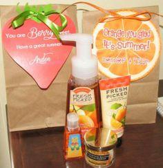 Orange you glad it summer bag topper printable | Sweetparties - Digital Art on ArtFire
