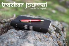 Enter for a chance to win a $25 Amazon Gift Card plus a Nepali Trekker leather journal handmade in the Himalayas of Nepal.