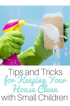 Need ideas for keeping your house clean with small children underfoot at home? Take a look at these tips from a homeschooling mom of many.