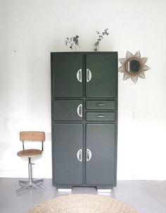 Buffet mado Decoration, Locker Storage, Sweet Home, Contemporary, Styles, Storage Ideas, Ideas Para, Liberty, Diy