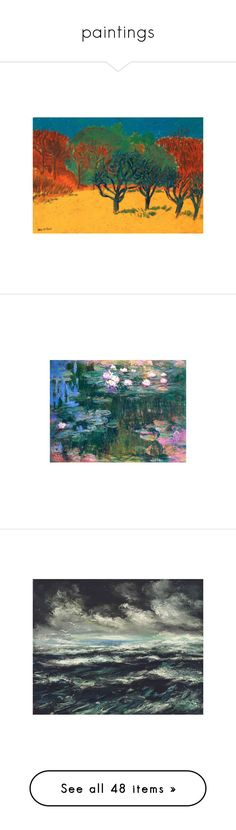 """""""paintings"""" by seungvie ❤ liked on Polyvore featuring art, pictures, pics, fillers, photos, backgrounds, images, tumblr, filler and paintings"""
