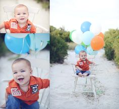 First Birthday session-beach