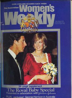 Charles and Diana on the cover of our 1982 royal baby special.