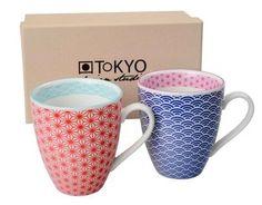Mugs Star Rouge et Bleu ,Tokyo Design: Amazon.fr: Cuisine & Maison