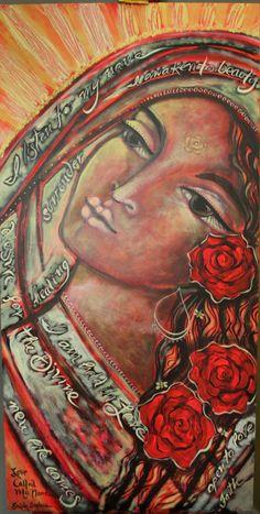 Love Called My Name - Paint the Magdalene in June #IAmTheMagdalene  www.projectmagdalene.net