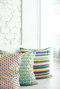 © stylus.pl | #homedecor #homeinspiration #interiors #fabric #pillows #stylus.pl #sweetcraft