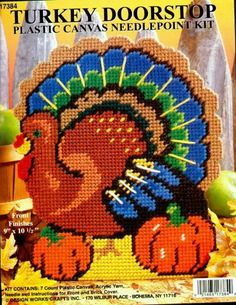 Turkey doorstop (country crafts canvas)