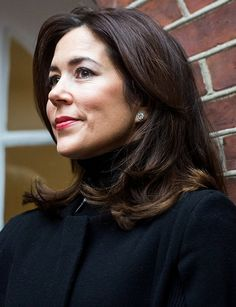 Crown Princess Mary visited Mothers Help's house in Vesterbro