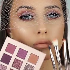 PINK GLAM MAKEUP LOOK - The best image about di surgical mask free pattern for your taste You are looking for something - Makeup Eye Looks, Glam Makeup Look, Beautiful Eye Makeup, Pink Makeup, Hair Makeup, Huda Beauty Makeup, Beauty Make-up, Eyeshadow Makeup, Eyeshadow Palette