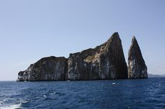 Kicker Rock. #Galapagos #Cruises #Nature #Landscapes #NemoCruises #Travel #Islands