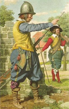 16th century musketeer