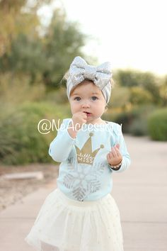087018bcb35 Silver Bow Headband big bow head wrap Toddler by NeAccessory Silver Headband