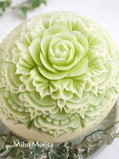 my life with my knife fruit carving & soap carving art from Tokyo http:/
