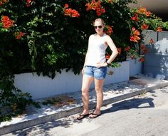 Summer holiday outfit via @beautybymissl