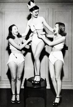 Betty Barrett diaper queen of the convention for the Diaper Service Institute of America. Chicago, 1947