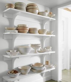 kitchen shelves!