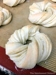 German Sugar Twist Cookies