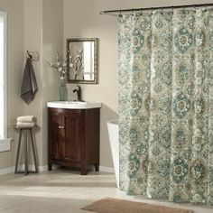 Shop m. style  MS 8994-TEAL Ali Baba Shower Curtain at ATG Stores. Browse our shower curtains, all with free shipping and best price guaranteed.