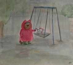 Дождевые друзья кота Эрнеста (Rain friends of cat Ernest)