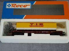 ROCO wagon poche T.I.E International Transports 46362 via ANTIQUE MARCBEA. Click on the image to see more!