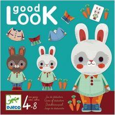 Good Look #Game #Bunny by #Djeco 5-9y from http://www.kidsdinge.com    https://www.facebook.com/pages/kidsdingecom-Origineel-speelgoed-hebbedingen-voor-hippe-kids/160122710686387?sk=wall   http://instagram.com/kidsdinge #kidsdinge #Kids #Toys #Speelgoed #Sinterklaas #Sint