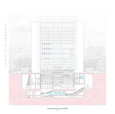 Metro station for Clichy sous bois - Federico Silvestri - Anna Bazzo