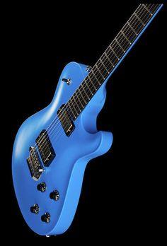 Knaggs Kenai T3 Grabber Blue - Finish: Nitrocellulose lacquer - Thomann www.thomann.de #blue #guitar #guitarist #finish