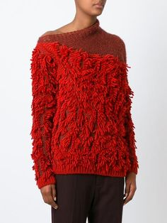 A.f.vandevorst '152 Tapas' Fringed Sweater - A.f. Vandevorst - Farfetch.com