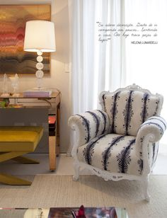 Open house - Helena Lunardelli. Veja: http://www.casadevalentina.com.br/blog/detalhes/open-house--helena-lunardelli-2961 #decor #decoracao #interior #design #casa #home #house #idea #ideia #detalhes #details #openhouse #style #estilo #casadevalentina