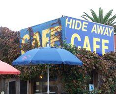 HideAway Cafe, Solana Beach, CA -- Best Breakfast, best after a run on the beach.