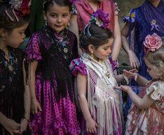 Moda flamenca infantil de Marta Arroyo. J.M. Serrano
