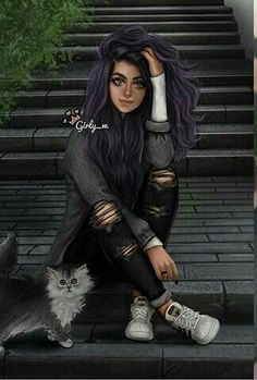 Riyadh girly_m Tumblr Drawings, Girly Drawings, Cool Drawings, Sarra Art, Girly M, Chica Cool, Cute Girl Drawing, Girly Pictures, Digital Art Girl