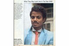 Em 1985, revista imaginou como seria Michael Jackson no ano 2000 – errou feio