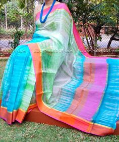 Elegant Kota Silk Saree with Ganga Jamuna  Border