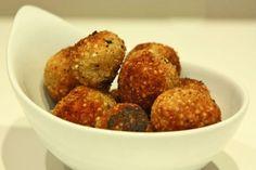 Polpettine di quinoa, ricetta energizzante  <3