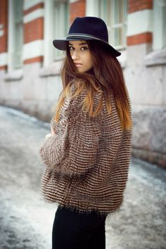 Chic for winter.