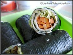 "Gluten Free Friday Lunch - Nori Wrap ""Sandwiches"" by Kate Chan, via Flickr"