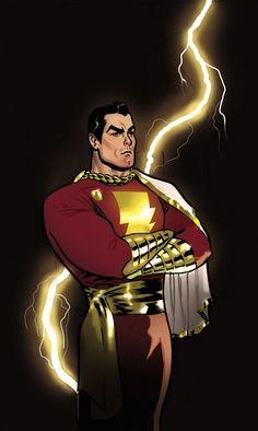 Shazam by Daniel Acuña #CaptainMarvel