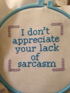 """malpal331: """"My Christmas presents are almost done!!! I just need to frame two cross-stitches. This is for my sister. I decided to do a Louise Blecher quote because we've gotten really into Bob's..."""