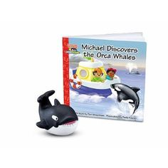 Amazon.com: Fisher-Price Little People Zoo Talkers Book & Figure Set Michael Discovers the Orca Whales: Toys & Games