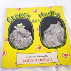 George and Martha- Vintage Kids Book 1972 by RetroVintageHeart on Etsy