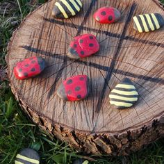 Tic Tac Toe In the Garden Tutorial  http://myhoneysplace.com/the-best-only-diy-projects-4/