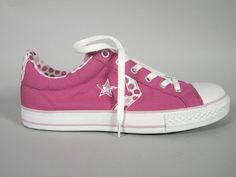NEW Converse Star Flyer Shoes Size 7 Kids Pink Sneakers NIB #617734F Juniors #Converse #CasualShoes #Notapplicable
