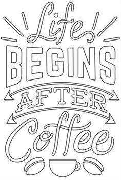 Coffee Break - Life Begins After Coffee_image