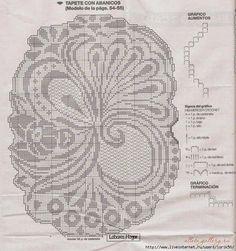 centro filet | Hobby lavori femminili - ricamo - uncinetto - maglia