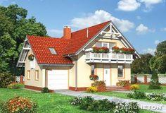 Proiect casa moderna Parter si Mansarda (P+M)